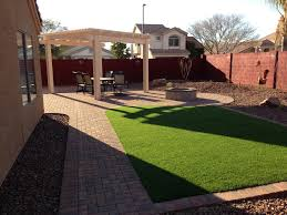 az landscapes backyards ideas small backyards pavers arizona