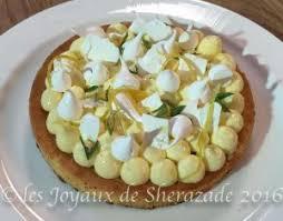 cuisine tarte au citron tarte au citron meringuée revisitée les joyaux de sherazade