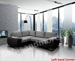 amazon black friday sofa brand new enzo corner sofa bed with storage jumbo cord