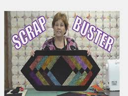 how to make a table runner with pointed ends scrap buster make easy table runner using the binding tool