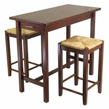 kitchen island with seating for 2 amazon com winsome kitchen island table with 2 seat stools 2