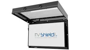 pec u0027s first hybrid outdoor tv cabinet the tv shield pro to debut
