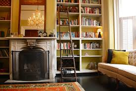 Dark Wood Bookshelves by What Goes With Dark Wood Floors