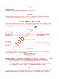 Resume Samples Education Section by Resume Templates In Spanish
