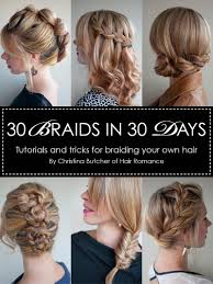 hairstyles at 30 30 braids in 30 days the ebook hair romance