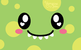 Halloween Monster Faces by Cute Animated Monster Wallpaper Wallpapersafari