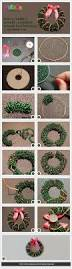 How To Make Christmas Wreath With Ornaments How To Make A Wreath A Beaded Wreath For Christmas Projects To