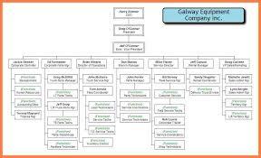 company organization chart corporate company organizational chart