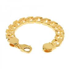 gold bracelet with links images 22k gold men 39 s cuban links bracelet raj jewels jpg