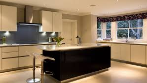 White Kitchen Cabinets With Black Island by Considering The Dark And Cool Black Kitchen Cabinets