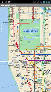map of nyc subway map nyc appstore for android
