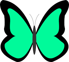 butterfly clipart to color u2013 101 clip art