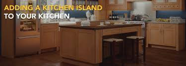 adding a kitchen island adding a kitchen island to your kitchen cabinets new jersey