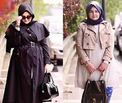 model baju muslim wanita modern untuk anda yang gemuk