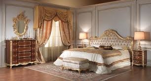 victorian master bedroom with luxury furniture plus asian carpet