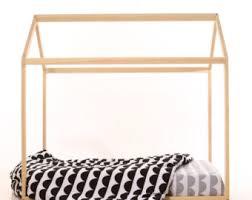 70 x 140 cm lit cabane house bedtoddler bedlit