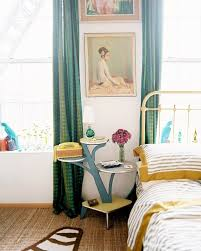 Colorful Patterned Curtains Dressing Up Windows With Colorful Patterned Curtains Apartment