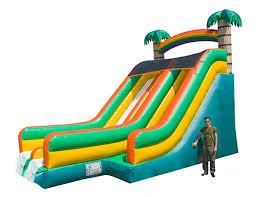 Backyard Cookout Ideas Bounce House Inflatables And Slide Combos Kicks And Giggles Usa