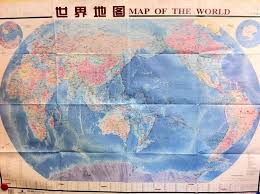 China On The World Map by Graphic China Centered South On Top Map Of The World U2013 Public