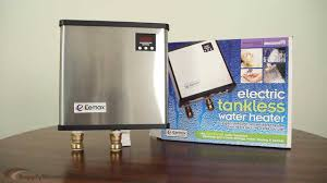 eemax tankless water heaters youtube
