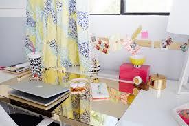 Kids Desk Blotter by Oh Joy U0027s Nursery Office Official Reveal Emily Henderson
