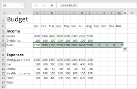 contoh format budget excel budget template in excel easy excel tutorial