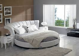 Circular Bed Frame Circular Bed Circle Beds Tufted Bed Plush Bedroom Modern