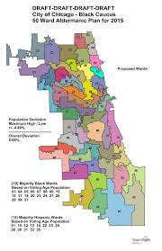 The L Chicago Map by The Sixth Ward Recap Of The Black Caucus Ward Remap Hearing