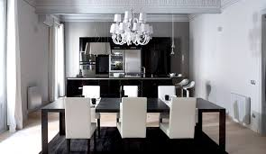 black contemporary dining table contemporary and modern dining tables black and white best design