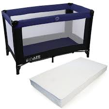 60 cm isafe rest u0026 play luxury travel cot playpen navy black navy
