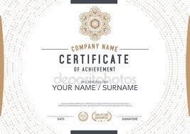 modern certificate template stock vectors royalty free modern