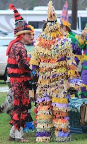 traditional cajun mardi gras costumes the wanderers courir de mardi gras