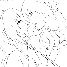 sasuke and sakura by ssabinka on deviantart