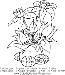 easter coloring pages numbers download and print these printable color by number coloring pages