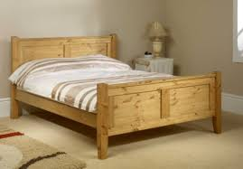 4ft Wooden Bed Frame Friendship Mill Coniston High Foot End 4ft Small Pine