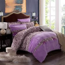 Cheetah Bedding Purple Bedding Sets Spillo Caves