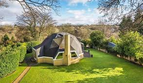 geodesic dome house poolside parking in virginia water 20m mansion in surrey u0027s
