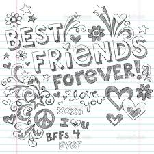 best friends forever coloring pages coloring pages u0026 pictures