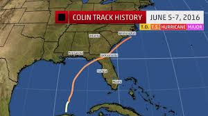 tropical storm colin recap the weather channel