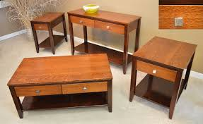Tiger Maple Furniture Amish Tiger Oak Contemporary Tables Jasens Furniture Detroit Michigan