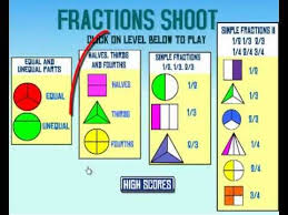 fractions math let s play math fractions lesson i