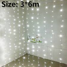 Icicle Lights In Bedroom 3x6m Led Curtain Backdrop Lights Led Fairy Lights Christmas Lamps
