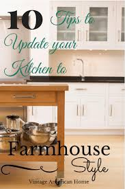 Designing A New Kitchen How To Update Your Kitchen To Farmhouse Style New Or Existing