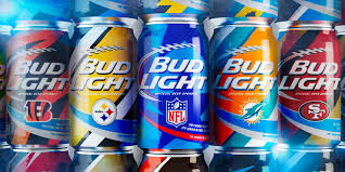 where can i buy bud light nfl cans bud light nfl cans the dieline packaging branding design