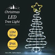 crazy christmas tree lights 3d christmas tree light 10m led fairy xmas decor figure