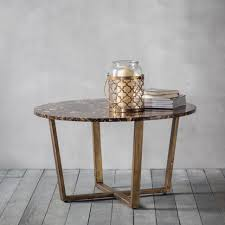 Round Marble Top Coffee Table Coffee Tables Gold Marble Coffee Table Gold Marble Accent Table