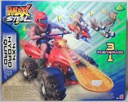 motocross action figures mattel 2002 max steel 4 x 4 hydro quad 3 in 1 vehicle mip european