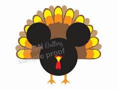 mickey mouse thanksgiving turkey t shirt iron on transfer