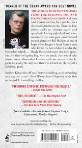 Burial Invitation Card Amazon Com Mr Mercedes A Novel The Bill Hodges Trilogy