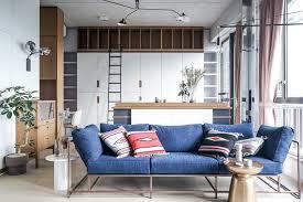ambiance canape design interieur aménagement petit appartement ambiance bois canape